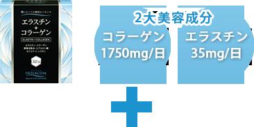 2大美容成分コラーゲン&エラスチン
